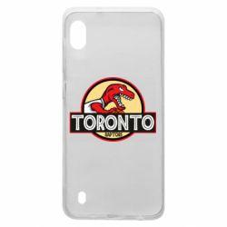 Чехол для Samsung A10 Toronto raptors park