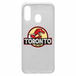 Чехол для Samsung A40 Toronto raptors park