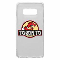 Чехол для Samsung S10e Toronto raptors park