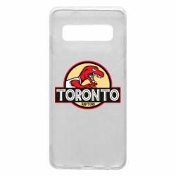 Чехол для Samsung S10 Toronto raptors park