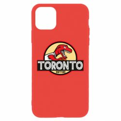 Чехол для iPhone 11 Toronto raptors park