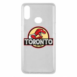 Чехол для Samsung A10s Toronto raptors park