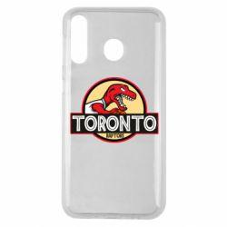 Чехол для Samsung M30 Toronto raptors park