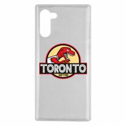 Чехол для Samsung Note 10 Toronto raptors park