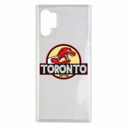 Чехол для Samsung Note 10 Plus Toronto raptors park