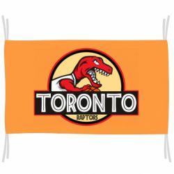 Флаг Toronto raptors park
