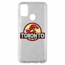Чехол для Samsung M30s Toronto raptors park