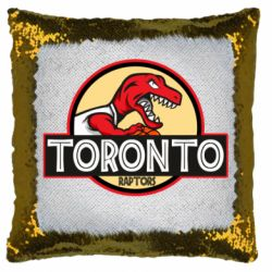 Подушка-хамелеон Toronto raptors park