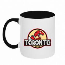 Кружка двухцветная 320ml Toronto raptors park