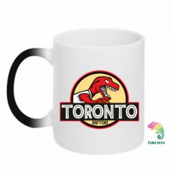 Кружка-хамелеон Toronto raptors park