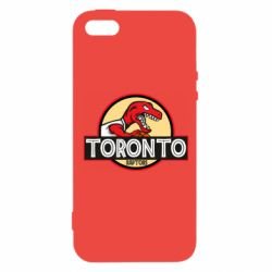 Чехол для iPhone5/5S/SE Toronto raptors park