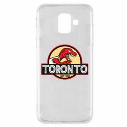 Чехол для Samsung A6 2018 Toronto raptors park