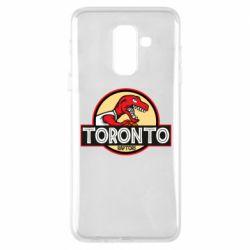 Чехол для Samsung A6+ 2018 Toronto raptors park