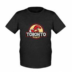 Детская футболка Toronto raptors park