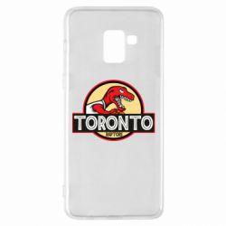 Чехол для Samsung A8+ 2018 Toronto raptors park