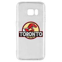 Чехол для Samsung S7 Toronto raptors park