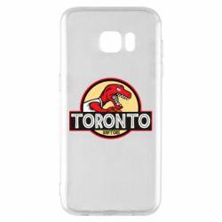 Чехол для Samsung S7 EDGE Toronto raptors park