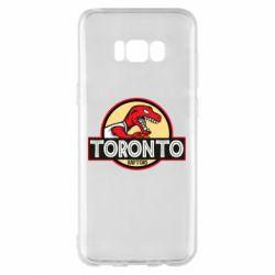 Чехол для Samsung S8+ Toronto raptors park
