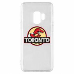 Чехол для Samsung S9 Toronto raptors park