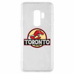 Чехол для Samsung S9+ Toronto raptors park
