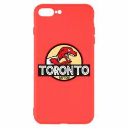 Чехол для iPhone 8 Plus Toronto raptors park