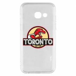 Чехол для Samsung A3 2017 Toronto raptors park