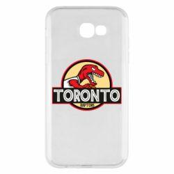 Чехол для Samsung A7 2017 Toronto raptors park