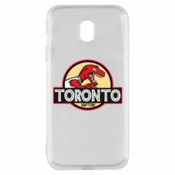 Чехол для Samsung J3 2017 Toronto raptors park