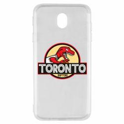 Чехол для Samsung J7 2017 Toronto raptors park