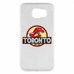 Чехол для Samsung S6 Toronto raptors park