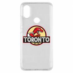 Чехол для Xiaomi Mi A2 Toronto raptors park