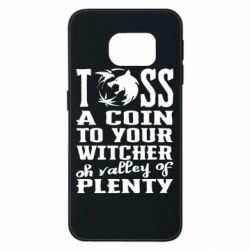 Чехол для Samsung S6 EDGE Toss a coin  to your  witcher  oh valley of  plenty