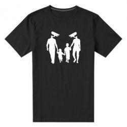 Мужская стрейчевая футболка Тоталитаризм