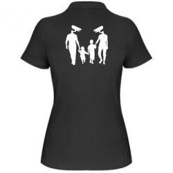 Женская футболка поло Тоталитаризм