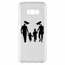 Чехол для Samsung S8+ Тоталитаризм
