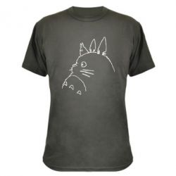 Камуфляжна футболка Тоторо