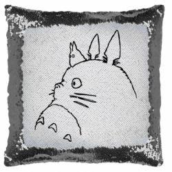 Подушка-хамелеон Тоторо