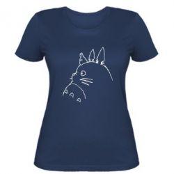 Жіноча футболка Тоторо