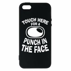 Купить UFC, Чехол для iPhone5/5S/SE Touch here for a punch in the face, FatLine