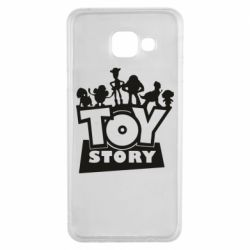 Чехол для Samsung A3 2016 Toy Story and heroes