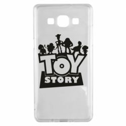 Чехол для Samsung A5 2015 Toy Story and heroes