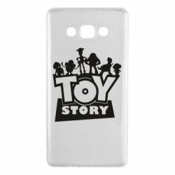 Чехол для Samsung A7 2015 Toy Story and heroes