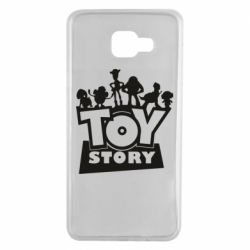 Чехол для Samsung A7 2016 Toy Story and heroes