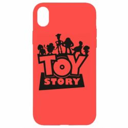 Чехол для iPhone XR Toy Story and heroes
