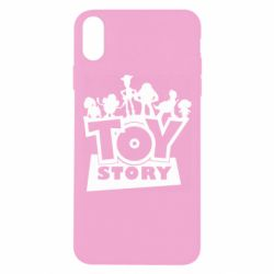 Чехол для iPhone Xs Max Toy Story and heroes