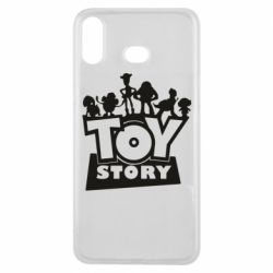 Чехол для Samsung A6s Toy Story and heroes