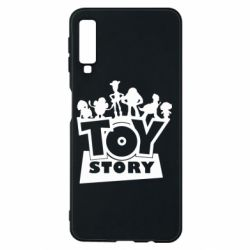 Чехол для Samsung A7 2018 Toy Story and heroes