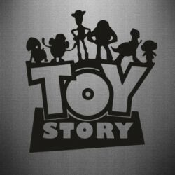 Наклейка Toy Story and heroes