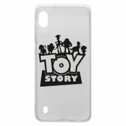 Чехол для Samsung A10 Toy Story and heroes
