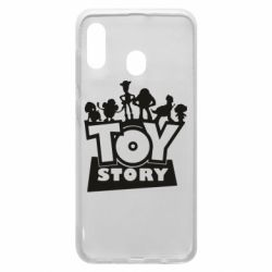 Чехол для Samsung A20 Toy Story and heroes